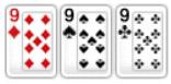 9 9 9 Тройка