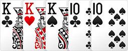 Комбинация в покере - Фулл Хаус.