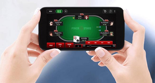 Мобильный клиент Покерстарс.