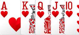 Комбинация в покере - Роял-Флэш.