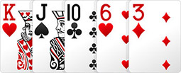 Комбинация в покере - Наивысшая карта.